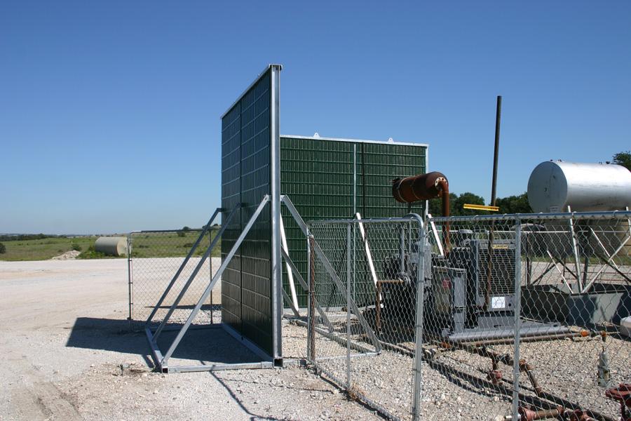 outdoor noise barriers