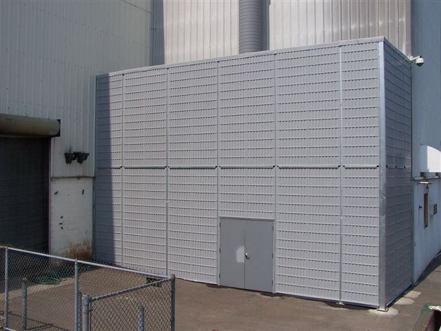 noise barrier enclosure