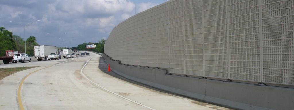 motorway noise barriers