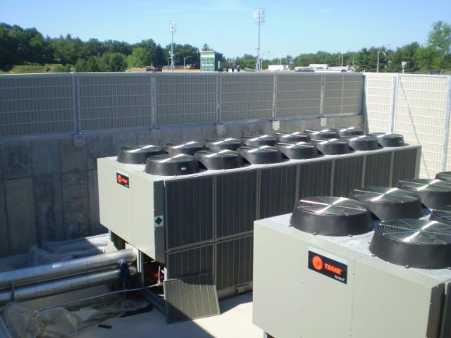 air conditioning noise barriers