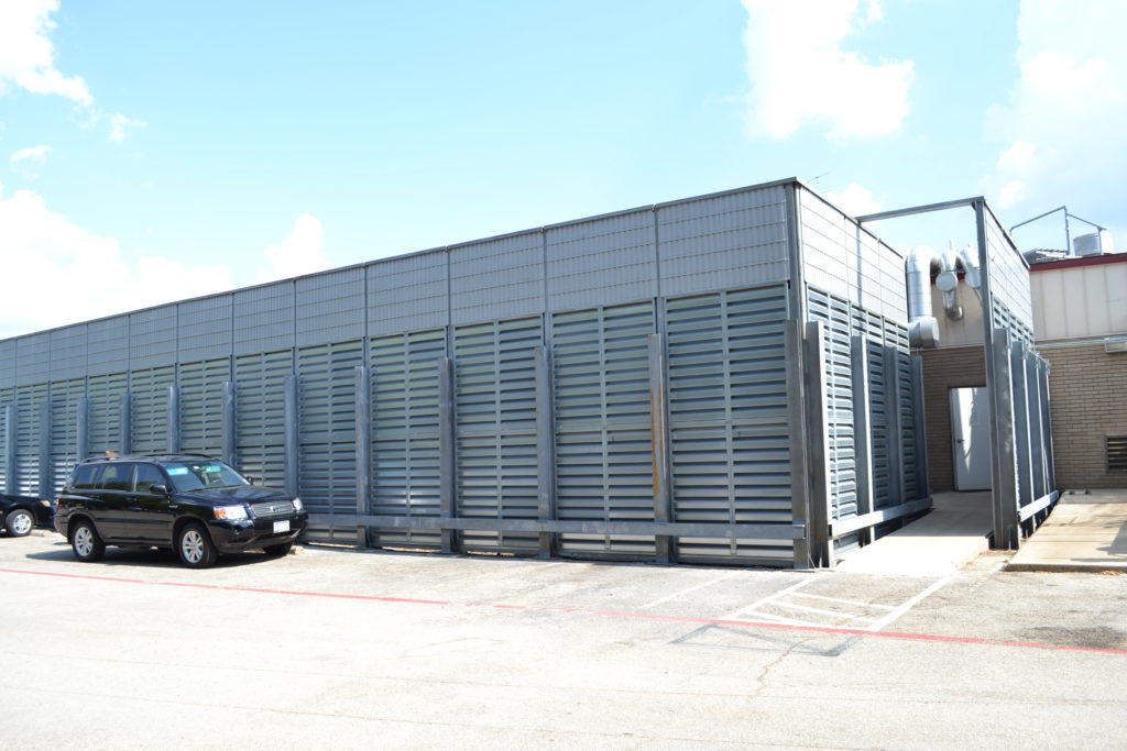 commercial hvac noise barrier