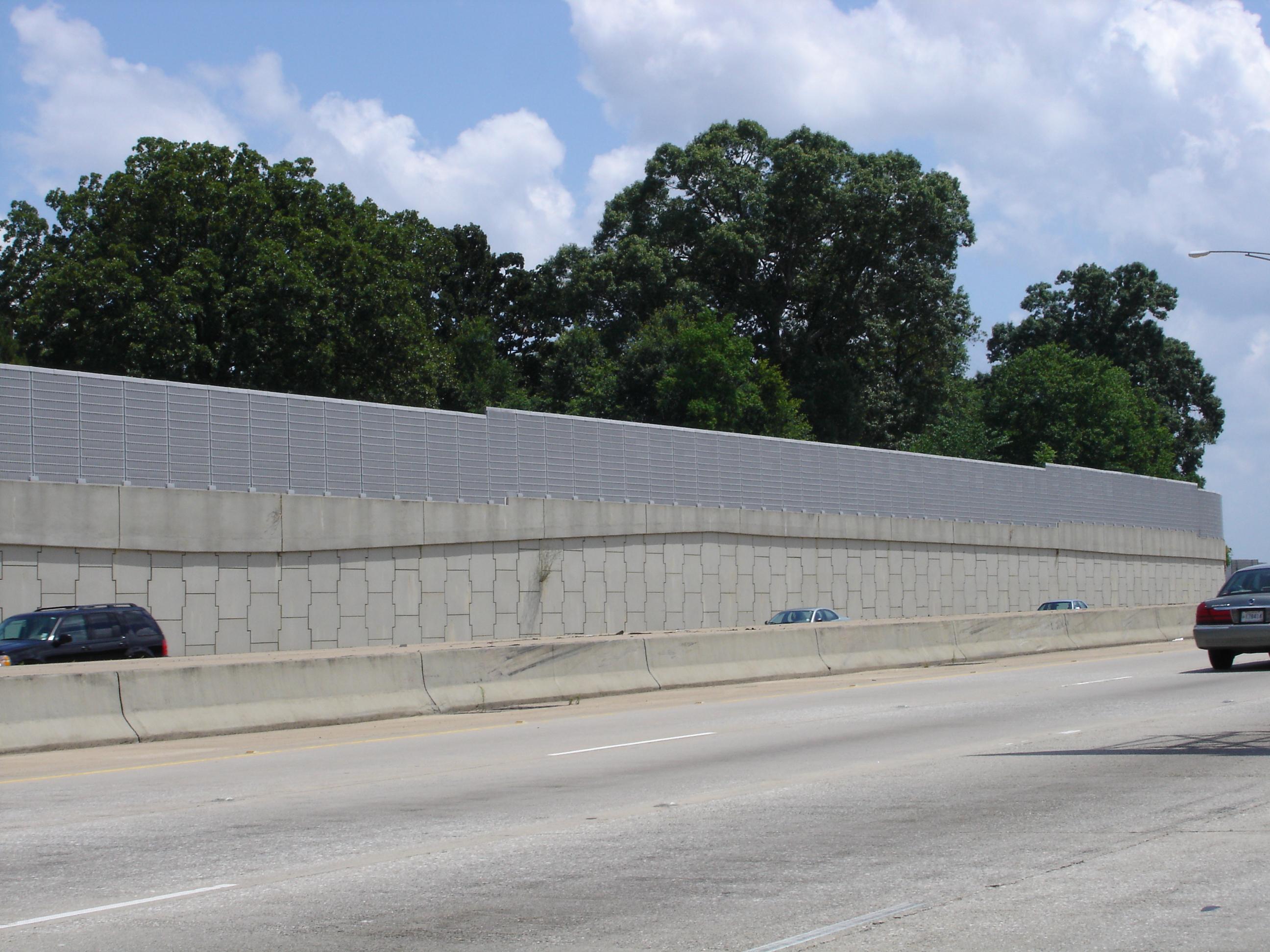 freeway noise barriers