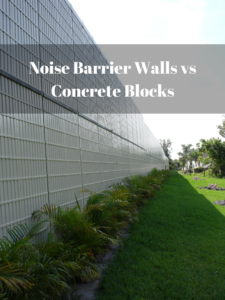 noise barrier walls